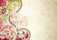 Abstrakter Blumenhintergrund Stockfotos