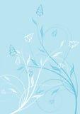 Abstrakter Blumenhintergrund. Lizenzfreie Stockfotografie