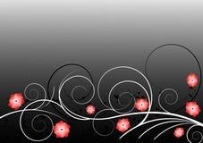 Abstrakter Blumenhintergrund Stockbilder