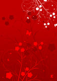 Abstrakter Blumenhintergrund Lizenzfreies Stockfoto