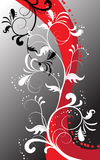 Abstrakter Blumenhintergrund Stockbild