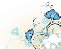 Abstrakter Blumenhintergrund. Lizenzfreie Stockbilder