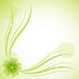 Abstrakter Blumenhintergrund, Abbildung Stockfotografie