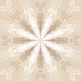 Abstrakter Blumenhintergrund, Elemente für Auslegung, Vektor Stockbilder