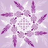 Abstrakter Blumenhintergrund, Elemente für Auslegung, Vektor Stockfotos