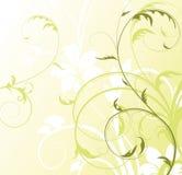 Abstrakter Blumenhintergrund mit freiem Platz Ihr te Stockfotografie