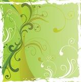 Abstrakter Blumenhintergrund mit freiem Platz Ihr te Stockbilder