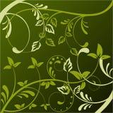Abstrakter Blumenhintergrund mit Platz für Ihr tex Lizenzfreie Stockbilder