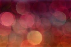 Abstrakter Bokeh-Hintergrund Stockbilder
