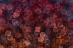 Abstrakter Bokeh-Hintergrund Lizenzfreie Stockbilder