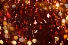 Abstrakter bokeh Hintergrund für das neue Jahr lizenzfreie abbildung