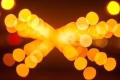 Abstrakter Bokeh-Hintergrund vom Licht Stockfotografie