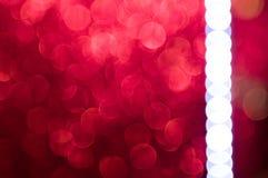 Abstrakter bokeh Weihnachtshintergrund Stockbild