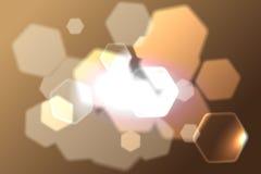 Abstrakter brauner Hintergrund Stock Abbildung