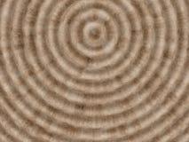 Abstrakter brauner Hintergrund mit Kreisen Stockfoto