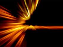 Abstrakter brennender Hintergrund Vektor Abbildung