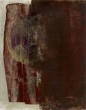 Abstrakter Brown mit Turbulenz Lizenzfreie Stockfotografie