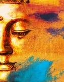 Abstrakter buddhistischer Hintergrund. Lizenzfreies Stockfoto
