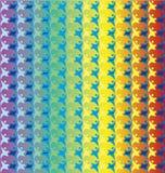 Abstrakter bunter Anstrichhintergrund Stockbild