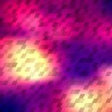 Abstrakter bunter geometrischer Hintergrund Stockfotografie