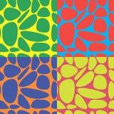 Abstrakter bunter heller nahtloser Musterhintergrund Vektor Abbildung