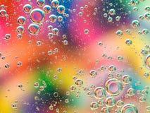 Abstrakter bunter Hintergrund mit Blasen Stockfoto
