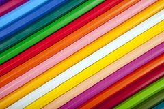 Abstrakter bunter Hintergrund mit Bleistiftbeschaffenheit Stockbilder
