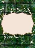 Abstrakter bunter Hintergrund mit Blumenphantasie vektor abbildung