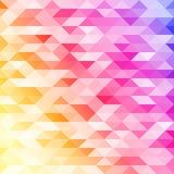 Abstrakter bunter lowpoly entworfener Vektorhintergrund Polygonaler Hintergrund Lizenzfreies Stockfoto