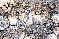 Abstrakter bunter Mosaikhintergrund Lizenzfreies Stockfoto