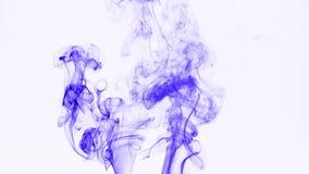 Abstrakter bunter Rauch Turbulance-Effekt stock footage