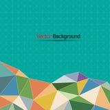 Abstrakter bunter und blauer Hintergrund für Design lizenzfreie abbildung