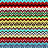 Abstrakter bunter Wellensommer blau, roter, grüner, gelber, weißer Mehrfarbenhintergrund Lizenzfreies Stockbild