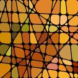 Abstrakter Buntglasmosaikhintergrund Lizenzfreie Stockfotografie