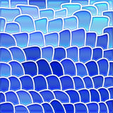 Abstrakter Buntglasmosaikhintergrund lizenzfreie abbildung