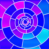 Abstrakter Buntglasmosaikhintergrund vektor abbildung