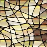 Abstrakter Buntglasmosaikhintergrund Lizenzfreie Stockbilder