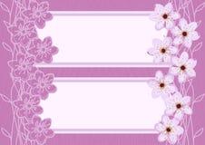 Abstrakter Cherry Blossom Background Stockfotografie