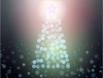 Abstrakter christmass Baum Lizenzfreie Stockbilder