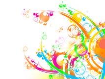 Abstrakter Cirlce Hintergrund Stockfoto