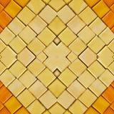 abstrakter Collagenentwurf von einem Bild von Marmorstücken in den gelben und orange Farben, im Hintergrund und in der Beschaffe lizenzfreie stockbilder