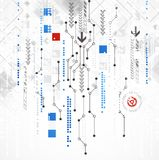 Abstrakter Computertechnologiehintergrund für Ihr Geschäft Stockfotos