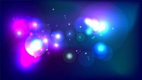 Abstrakter cosmo Galaxie-Universumhintergrund Lizenzfreie Stockfotos