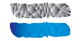 Abstrakter Crystal Business Banner New Stockbild