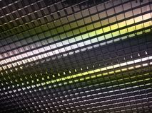 Abstrakter Deckenleuchtehintergrund Lizenzfreie Stockfotografie