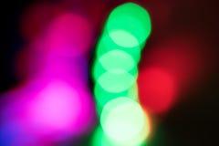 Abstrakter defocused undeutlicher Feiertag bokeh Beschaffenheitshintergrund - Weihnachten Lizenzfreies Stockfoto