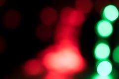Abstrakter defocused undeutlicher Feiertag bokeh Beschaffenheitshintergrund - Weihnachten Lizenzfreie Stockfotografie