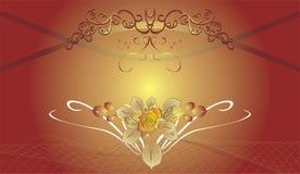 Abstrakter dekorativer Hintergrund für holidayâs Karten vektor abbildung