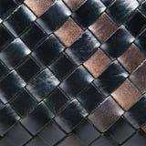 Abstrakter dekorativer Korbflechtenhintergrund Nahtloses Muster Stockfoto