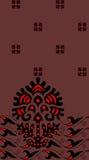 Abstrakter dekorativer Musterzusammenfassungshintergrund Stockbilder